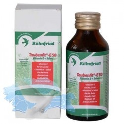 Taubenfit E 50 + Selenium 500ml
