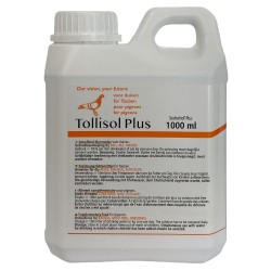 Tollisan Sedochol Plus 1 L, the Original Sedochol from Merial for racing pigeons