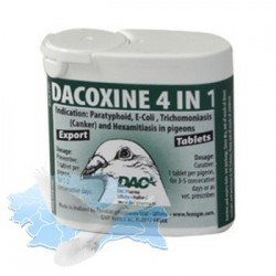 Dacoxine Pastile 4 in 1